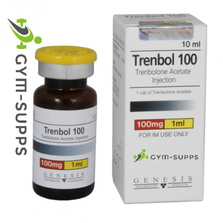 GENESIS MEDS TRENBOL 100 (trenbolone acetate)100mg x 10ml, EXPIRY APR 2019 14