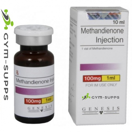 GENESIS MEDS METHANDIENONE (injectable Dianabol) 100mg 10ml 6