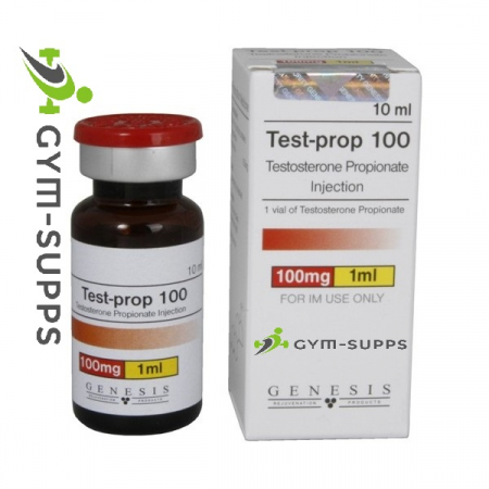 GENESIS MEDS TEST-PROP 100 (Testosterone Propionate)100mg x 10ml 9