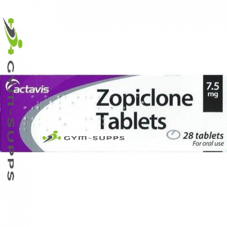 ZOPICLONE (PHARMACEUTICAL - ACTAVIS) 7.5mg 28 Tabs 4