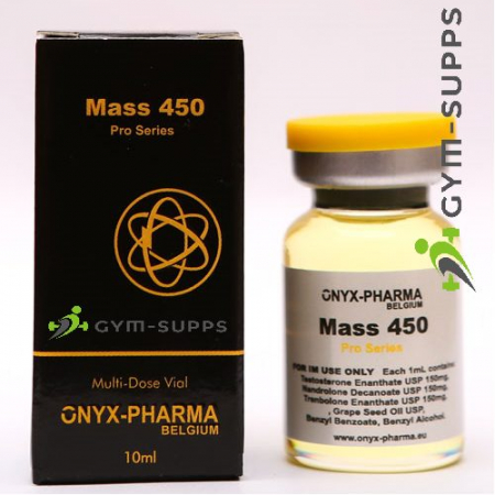 ONYX PHARMA - MASS 450 (TEST ENANTHATE, TREN ENANTHATE, NANDROLONE MIX) 450mg x 10ml 1