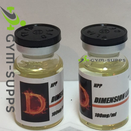 DIMENSION LABS - NPP 100 (NANDROLONE PHENYLPROPIONATE) 100mg/ml 3