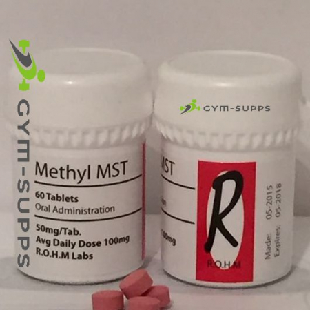 R.O.H.M - METHYL MST (SUPERDROL & WINSTROL) 50mg/60tabs 4