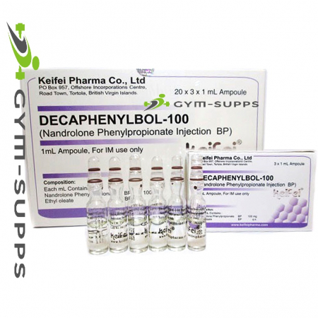 KEIFEI PHARMA - NPP, NANDROLONE PHENYLPROPIONATE 100mg/ml, 3x1ml (Decaphenylbol - 100) 2