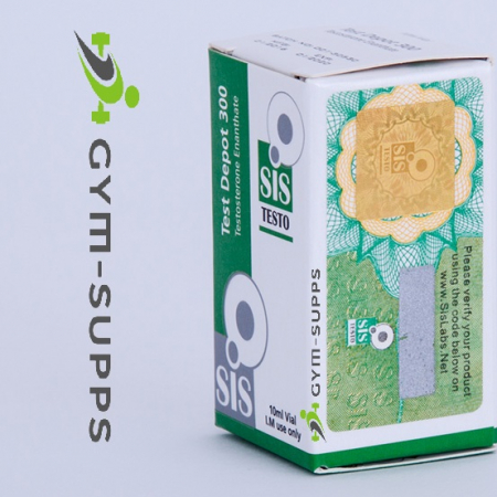 SIS LABS – TEST DEPOT 300 ( TEST E, TESTOSTERONE ENANTHATE) 300mg/ml 10ml 10