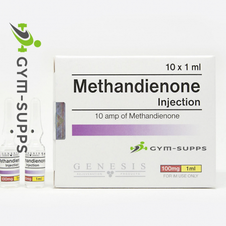 methandienone 450x450 - GENESIS MEDS METHANDIENONE 100mg/1ml/10 vials (Injectable dianabol, dbol, injections) EXPIRY OCT 2019