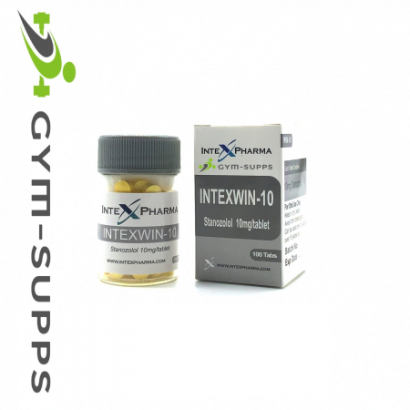 INTEX PHARMA - INTEX WIN-10 (WINSTROL, STANOZOLOL, WINI) 10mg / 100tabs 3
