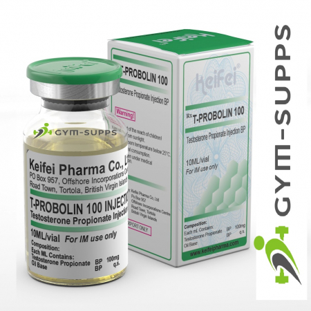 KEIFEI PHARMA – T - PROBOLIN 100 (TESTOSTERONE PROPIONATE) 100mg/10ml 8