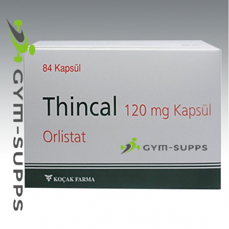 ORLISTAT - (EXTREME STRENGTH FAT BURNER) THINCAL120 MG 84 Caps (XENICAL, Alli) - KOCAK PHARMA, FAT BURNER 2