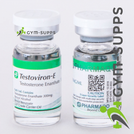PHARMAQO LABS – TESTOVIRON - E 300 Mg/ Ml, 10ml 10